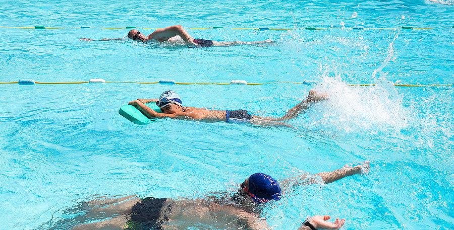 La piscine municipale ouvre tout l'été !