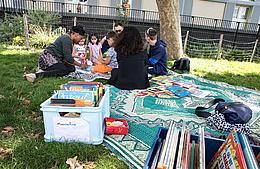 lectures et ateliers au jardin
