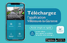 Une application mobile « Villeneuve-la-Garenne »