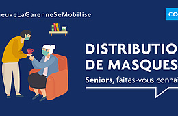 Covid-19 – Distribution de masques aux seniors