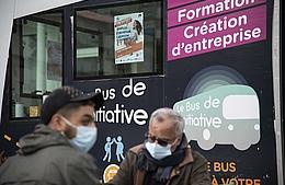Le Bus de l'Initiative de retour à Villeneuve