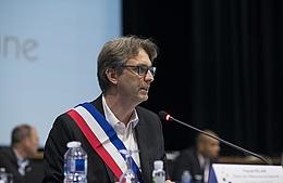 Pascal Pelain, nouveau maire de Villeneuve-la-Garenne