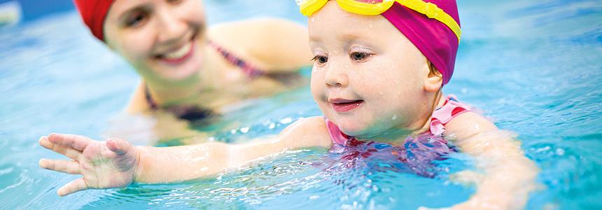 bébés nageurs à Villeneuve-la-Garenne.