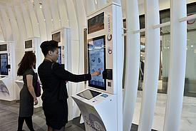Qwartz propose aux visiteurs un parcours shopping inédit totalement connecté à vos envies.