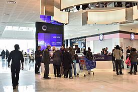 Qwartz offre un panel de services de qualité aux visiteurs dont le Wi-Fi partout.