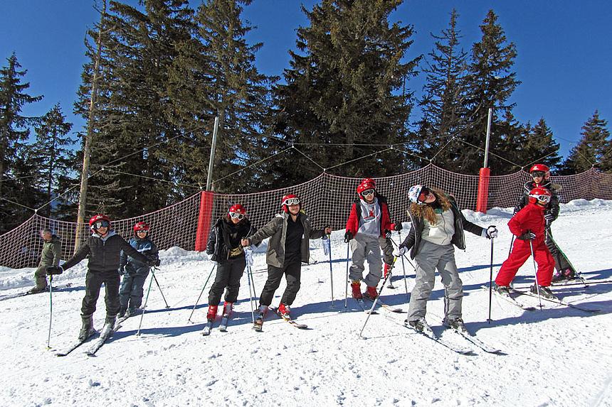 Classe découverte neige au Mont-Saxonnex