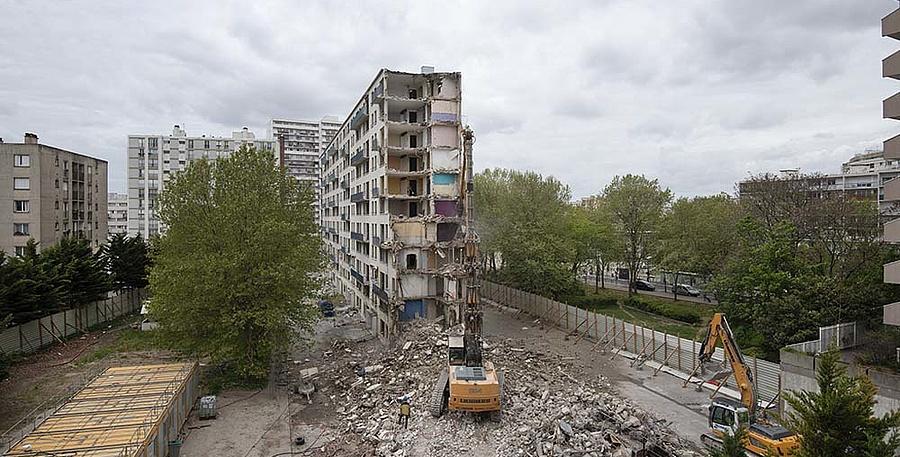 La démolition a commencé