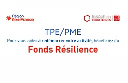 Fonds Résilience Île-de-France et collectivités