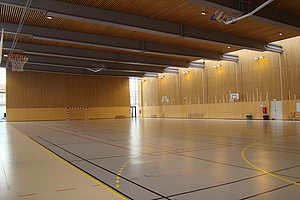 gymnase de l'Espace Pierre Brossolette.