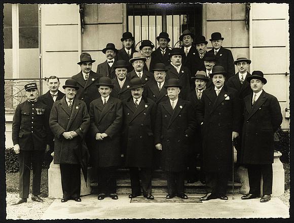 Premier conseil municipal, élu le 5 mai 1929