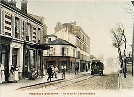 Avenue de Gennevilliers, début du XXe siècle