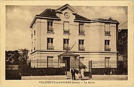 Première mairie de Villeneuve-la-Garenne