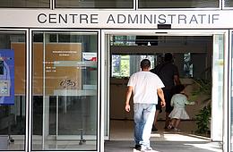 Le centre administratif sera fermé au public les 1er, 8, 10, 11, 12 et 21 mai.
