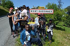 Classe découverte au Mont-Saxonnex
