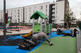 Une nouvelle aire de jeux square Pasteur