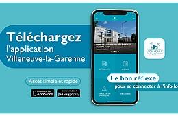 Connectez-vous à l'info locale sur l'application mobile «  Villeneuve-la-Garenne »