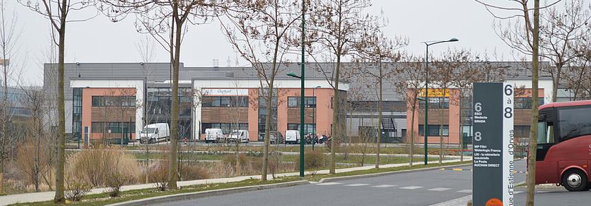 zone industrielle des Chanteraines.