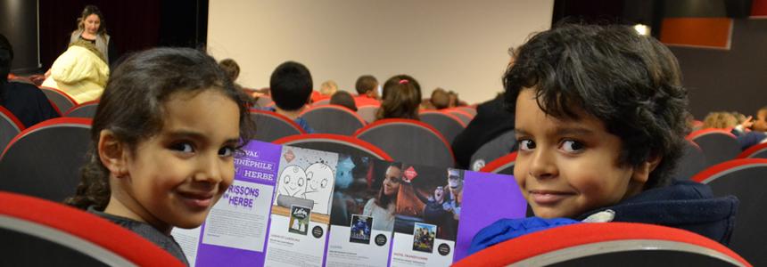 Cinéphile en herbe : un programme de cinéma entièrement dédié aux enfants