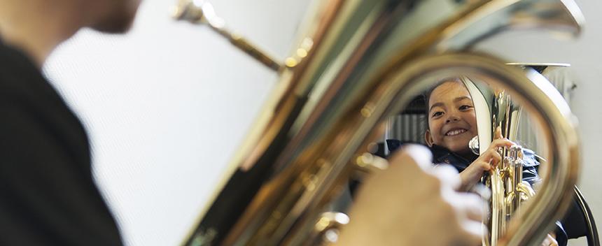 Cours à l''école municipale de musique Claude-Debussy.
