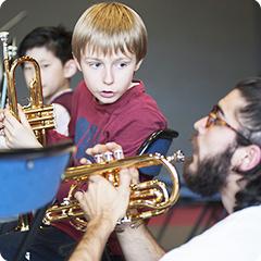 Cours à l'école municipale de musique